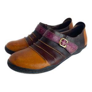 SPRING STEP L'ARTISTE Artisan Leather Loafers